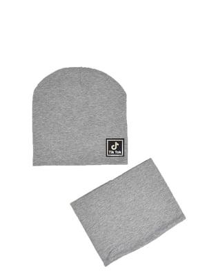 Комплект: шапка и бафф | 5639466