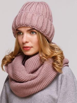 Комплект: шапка і шарф-снуд | 5640412