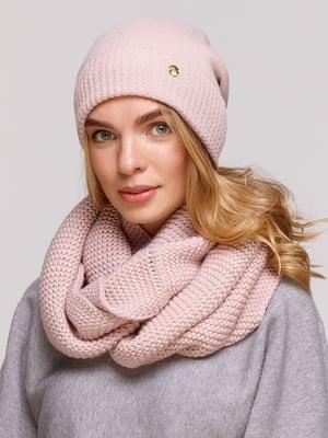 Комплект: шапка и шарф-снуд | 5640413