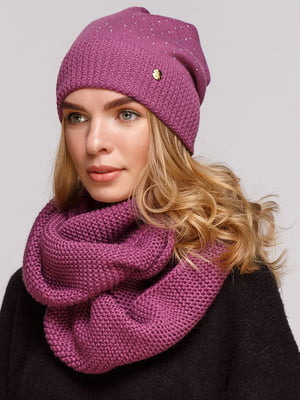 Комплект: шапка і шарф-снуд   5640414