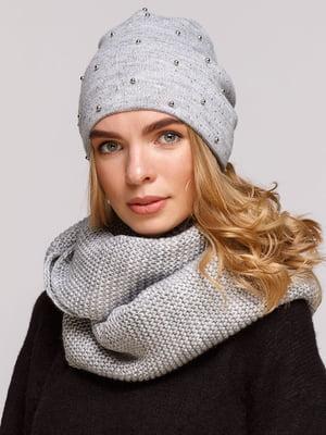 Комплект: шапка і шарф-снуд | 5640425
