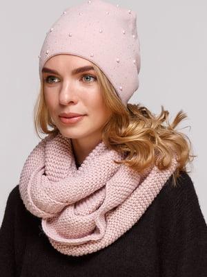 Комплект: шапка і шарф-снуд | 5640427