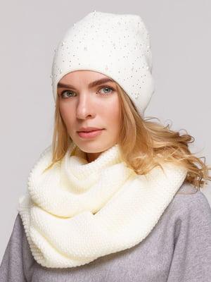 Комплект: шапка и шарф-снуд | 5640428