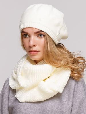 Комплект: берет і шарф-снуд   5640460