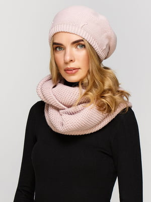 Комплект: берет і шарф-снуд | 5640463