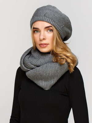 Комплект: берет і шарф-снуд | 5640465