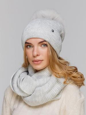 Комплект: шапка и шарф-снуд | 5640467