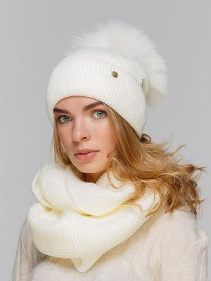 Комплект: шапка і шарф-снуд   5640468
