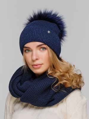Комплект: шапка и шарф-снуд | 5640469