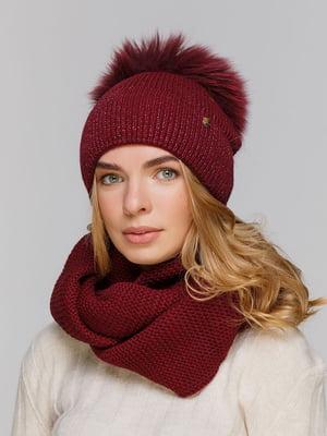 Комплект: шапка і шарф-снуд   5640470