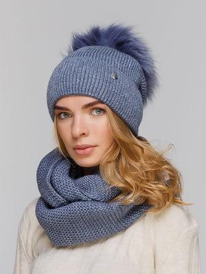 Комплект: шапка и шарф-снуд | 5640471
