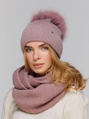Комплект: шапка и шарф-снуд | 5640472