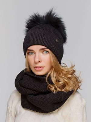 Комплект: шапка і шарф-снуд   5640474