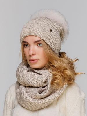 Комплект: шапка и шарф-снуд | 5640475