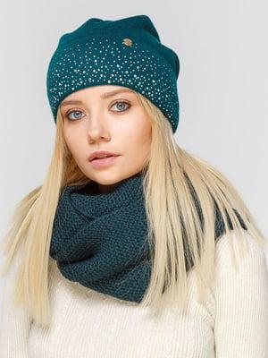 Комплект: шапка и шарф-снуд | 5640521