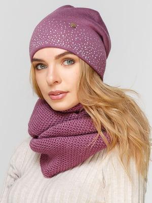 Комплект: шапка и шарф-снуд | 5640527