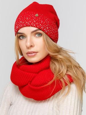 Комплект: шапка и шарф-снуд | 5640528