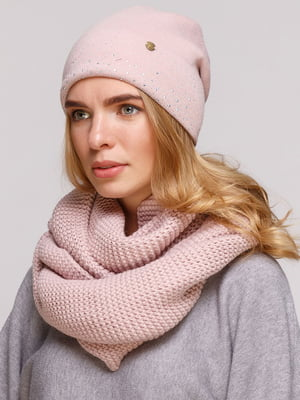 Комплект: шапка і шарф-снуд | 5640534