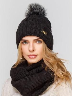 Комплект: шапка и шарф-снуд | 5640540