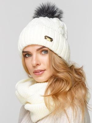 Комплект: шапка і шарф-снуд | 5640544