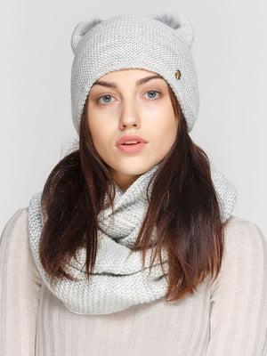 Комплект: шапка і шарф-снуд | 5640550