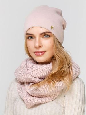 Комплект: шапка и шарф-снуд | 5640554