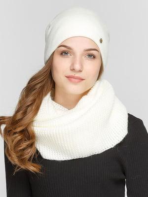 Комплект: шапка і шарф-снуд   5640556