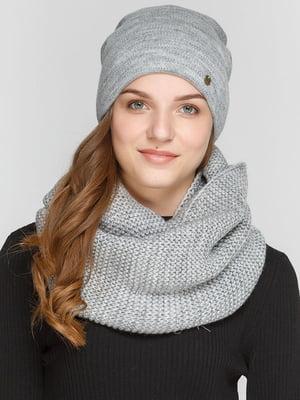 Комплект: шапка і шарф-снуд | 5640557