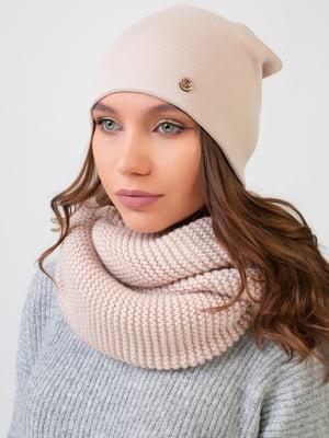 Комплект: шапка и шарф-снуд | 5640566