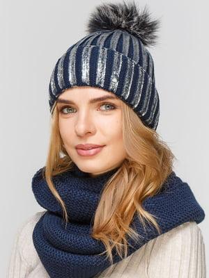 Комплект: шапка і шарф-снуд | 5640569