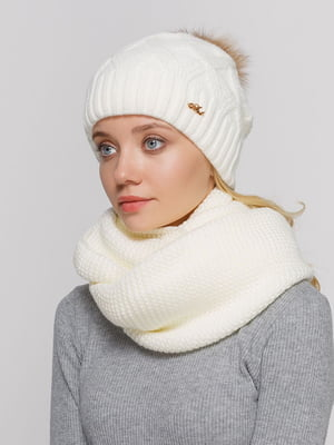 Комплект: шапка і шарф-снуд   5640597