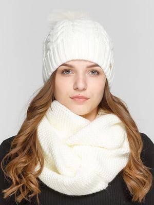 Комплект: шапка и шарф-снуд | 5640600