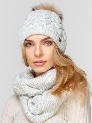 Комплект: шапка і шарф-снуд | 5640609
