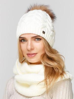 Комплект: шапка і шарф-снуд   5640610