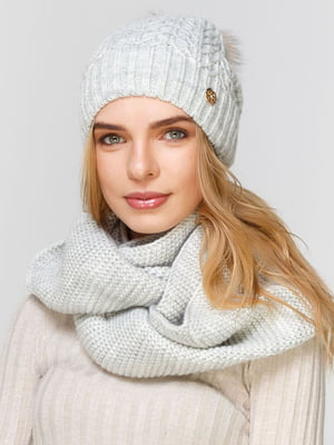 Комплект: шапка і шарф-снуд | 5640623