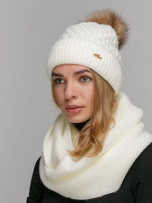Комплект: шапка і шарф-снуд   5640637