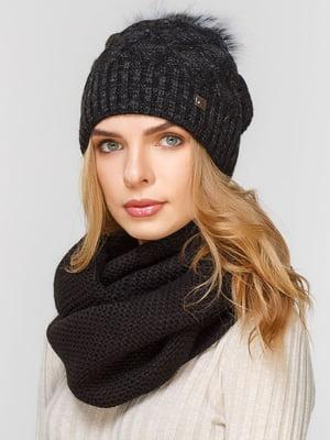 Комплект: шапка і шарф-снуд   5640659