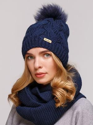 Комплект: шапка і шарф-снуд | 5640668
