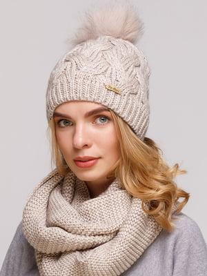 Комплект: шапка и шарф-снуд | 5640675