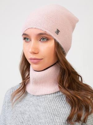 Комплект: шапка и шарф-снуд | 5640732