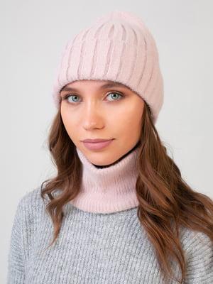 Комплект: шапка і шарф-снуд | 5640737