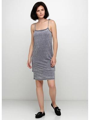 Платье серое | 5505240