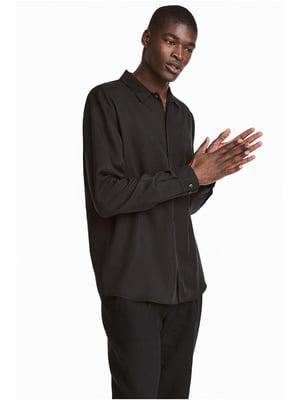 Рубашка черная   5538621