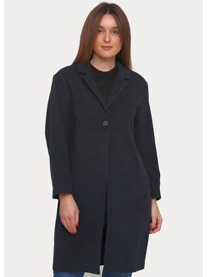 Пальто темно-синее | 5538955