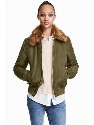Куртка зеленая | 5538956