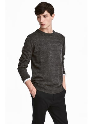 Джемпер темно-серый | 5549717