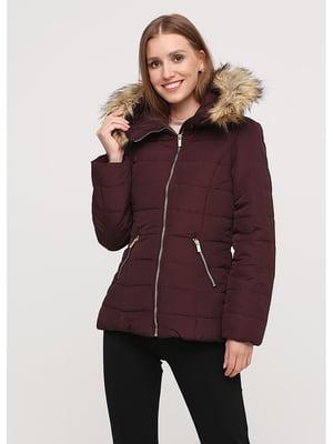 Куртка бордовая | 5549842