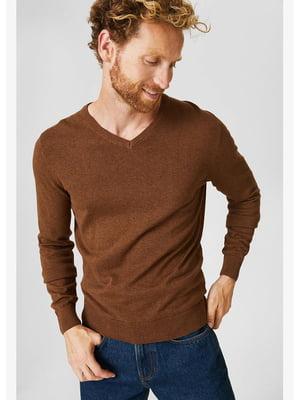Пуловер горчичного цвета | 5550010