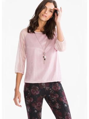 Блуза розовая | 5550208