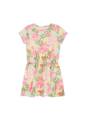 Платье в цветочный принт | 5560039